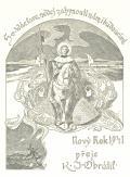 Sv. Václave nedej zahynouti nám i budoucím. Nový rok 1941 přeje K.J.Obrátil (odkaz v elektronickém katalogu)