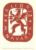 M. NAVAŘÍK EX LIBRIS (odkaz v elektronickém katalogu)