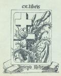 ex libris Joseph Rohr (odkaz v elektronickém katalogu)