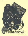 EX LIBRIS R. TRUNEČKOVÁ (odkaz v elektronickém katalogu)