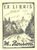 EX LIBRIS M. Rousová (odkaz v elektronickém katalogu)