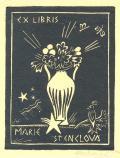 EX LIBRIS MARIE ŠTENGLOVÁ (odkaz v elektronickém katalogu)
