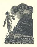 EXLIBRIS JOHAN H. A TANSEN (odkaz v elektronickém katalogu)