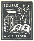 EX LIBRIS ALOIS ŠTORK (odkaz v elektronickém katalogu)