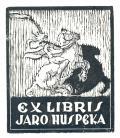 EX LIBRIS JARO HUSPEKA (odkaz v elektronickém katalogu)