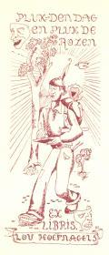 Pluk den dag en pluk de rozen EX LIBRIS LOU HOEFNAGELS (odkaz v elektronickém katalogu)