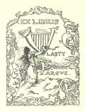 EX LIBRIS VLASTY FÁROVÉ (odkaz v elektronickém katalogu)
