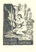EX-LIBRIS MUDr. ALEŠ HARTMAN (odkaz v elektronickém katalogu)