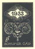 1933 pf BOHUMÍR ČÁP (odkaz v elektronickém katalogu)
