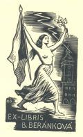 EX-LIBRIS B. BERÁNKOVÁ (odkaz v elektronickém katalogu)
