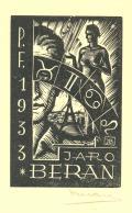 P.F.1933 JARO BERAN (odkaz v elektronickém katalogu)