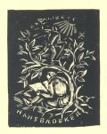 EXLIBRIS HANS BAEDEKER (odkaz v elektronickém katalogu)