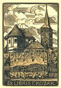 EX LIBRIS F. KOZÁK (odkaz v elektronickém katalogu)