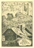 Ex libris ARCH. FRANT. KOZÁk (odkaz v elektronickém katalogu)