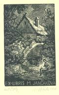 EX-LIBRIS M. JANČÁKOVÁ (odkaz v elektronickém katalogu)