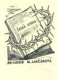 ČESKÁ KNIHA EX-LIBRIS M. JANČÁKOVÁ (odkaz v elektronickém katalogu)