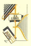 EX LIBRIS ALOIS KUČÍK (odkaz v elektronickém katalogu)