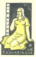EX LIBRIS R. KOVAŘÍKOVÉ (odkaz v elektronickém katalogu)