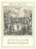 EX-LIBRIS ARCHIVUM BUDVICENSE (odkaz v elektronickém katalogu)