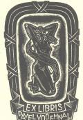 EX LIBRIS PAVEL VODEHNAL (odkaz v elektronickém katalogu)