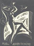 EX-LIBRIS MUDra JOSEFA TICHÉHO (odkaz v elektronickém katalogu)