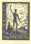 EX-LIBRIS  ING. F. PETRTÝL (odkaz v elektronickém katalogu)