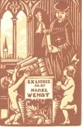 EX LIBRIS JU.DR.KAREL WENDT (odkaz v elektronickém katalogu)