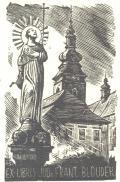 EX-LIBRIS JUDr. FRANT. BLOUDEK (odkaz v elektronickém katalogu)