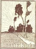 Exlibris Ludvík Král (odkaz v elektronickém katalogu)