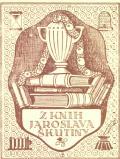 Z knih Jaroslava Škutiny (odkaz v elektronickém katalogu)