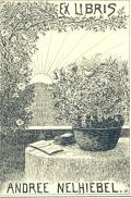 Exlibris Andree Nelhiebel (odkaz v elektronickém katalogu)