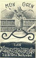 Mein Eigen Elan bis zur dritten Instanz J.U.Dr. Otto Nelhiebel (odkaz v elektronickém katalogu)