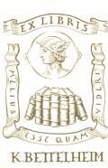 Exlibris K. Bettelheim (odkaz v elektronickém katalogu)