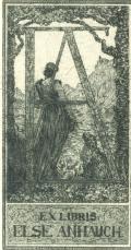 Exlibris Else Anhauch (odkaz v elektronickém katalogu)