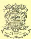 Exlibris Lucien Borel du Bez (odkaz v elektronickém katalogu)