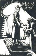 Ex libris Dr Szántó László (odkaz v elektronickém katalogu)