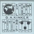 Exlibris G.A. Kinker (odkaz v elektronickém katalogu)