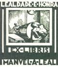 EX-LIBRIS MANUEL A. LEAL (odkaz v elektronickém katalogu)
