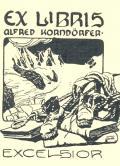 Ex libris Alfred Korndörfer (odkaz v elektronickém katalogu)