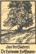 Aus der Bücherei Dr. hermann hoffmann (odkaz v elektronickém katalogu)