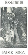 EX-LIBRIS JAIME ROGA (odkaz v elektronickém katalogu)