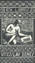 EX LIBRIS VÍTĚZSLAV BENEŠ (odkaz v elektronickém katalogu)