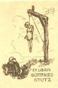 EX LIBRIS GOTTFRIED STUTZ (odkaz v elektronickém katalogu)