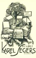EX LIBRIS KAREL SEGERS (odkaz v elektronickém katalogu)