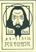 ex-libris A.B. FGHIR (odkaz v elektronickém katalogu)