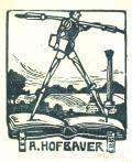 EX A.HOFBAUER LIBRIS (odkaz v elektronickém katalogu)