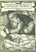 Ex libris MUDr. D. Panýrek (odkaz v elektronickém katalogu)