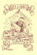 EX LIBRIS SV. SAMEK (odkaz v elektronickém katalogu)