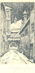 PŘÍJEMNÉ VÁNOCE A VŠE NEJLEPŠÍ V ROCE 1935 PŘEJÍ VLASTA, ZDENIČKA A SVATOPLUK SAMKOVI (odkaz v elektronickém katalogu)