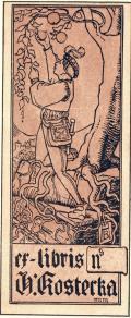 ex-libris h. kosterka (odkaz v elektronickém katalogu)